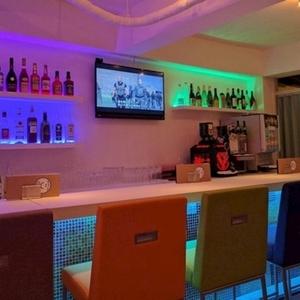 Girls Bar Lounge Smile