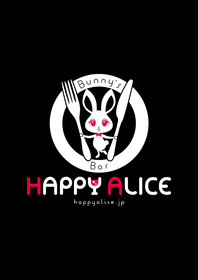 Bunny's Bar HAPPY ALICE